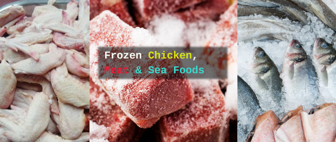 FrozenChickenand Sea Food